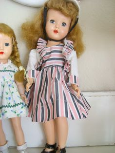 Some of my Sweet Valentine brand 50's dolls and an Arranbee