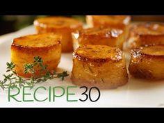 Potato fondant – Pommes De Terre Fondantes – Easy Meals with Video Recipes by Chef Joel Mielle – RECIPE30