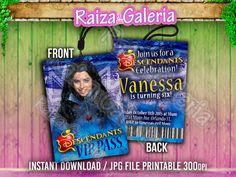 VIP Pass Invitation Disney Descendants We by RaizaysuGaleria