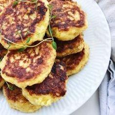 Vegetar frikadeller Greek Recipes, Veggie Recipes, Vegetarian Recipes, Cooking Recipes, Healthy Recipes, Vegetarian Christmas Dinner, Danish Food, Healthy Treats, Superfood