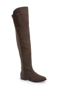 Chinese Laundry 'Riley' Stretch Back Suede Over The Knee Boot (Women) available at #Nordstrom