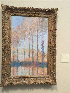 Claude Monet - Poplars on the Bank of the Epte River W 1298 Art Gallery, Philadelphia Art, Art Museum, Fantasy Decor, Philadelphia Museum Of Art, Painting, Art, Famous Art, Beautiful Art