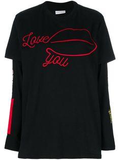 Chiara Ferragni Love You embroidered T-shirt