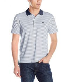 Buy Men's Slim Fit Short Sleeve Striped Performance Polo - Military Blue - Shop the latest collection of Men's Shirts enjoy big discount and fast shipping. Polo Shirts With Pockets, Short Sleeve Polo Shirts, Men's Shirts, Mens Back, Mens Outdoor Clothing, Slim Man, Outdoor Outfit, Short Sleeves, Military