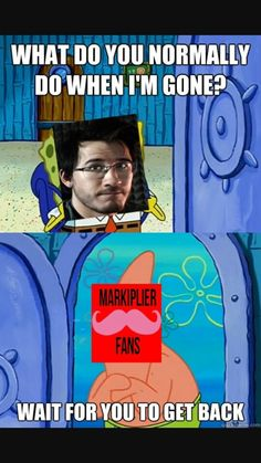 This is what every markiplier fan would say!!!