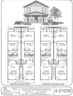 Building Designs by Stockton: Plan # 4-21038