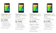 Android L upgradable Nexus 7 2013 Prices dropped in India on Flipkart ! http://fkrt.it/MTyMcNNN