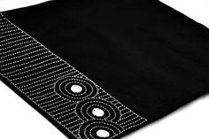 Sets de table noir  Ryoan ji Zen gardennapperons en par AmoreBeaute, $9.99