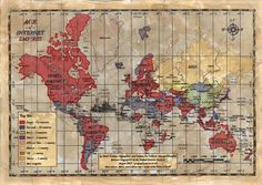 Age of Internet Empires: One Map With Each Country's Favorite Website - Robinson Meyer - The Atlantic