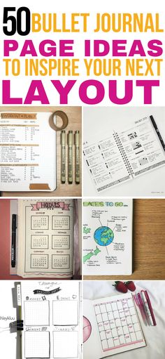Bullet journal page ideas to inspire your next layout! These bullet journal pages are THE BEST! I'm so glad I found these awesome bujo ideas for my spreads and layouts! Now I know exactly what to include in my bujo! Definitely pinning this for later! February Bullet Journal, Bullet Journal Notebook, Bullet Journal How To Start A, Bullet Journal Layout, Bullet Journal Inspiration, Bullet Journals, Bujo, Bullet Journal Minimalist, Journal Aesthetic