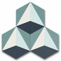 """rocket 8"""" hex special order – Cle Tile"""