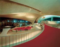 TWA Trans World Airlines Terminal, Eero Saarinen - JFK