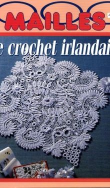 Magazine Crochet, Crochet Symbols, Irish Crochet, Floral, Crocheting, Couture, Books, Journals, Crossstitch