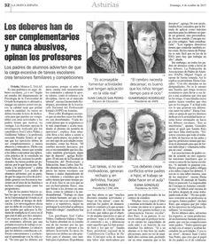 #losdeberes Alfonso L. Roa Blog : Foto