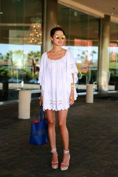EASY BREASY EYELET IN PALM SPRINGS