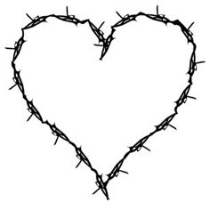 barbed wire heart on Universalscrapbook - Scrapbooking Logos Sharing