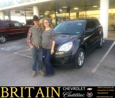 #HappyAnniversary to Catherine Tucker on your 2014 #Chevrolet #Equinox from Everyone at Britain Chevrolet Cadillac!