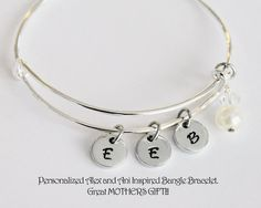 Alex and Ani Inspired Bangled Bracelet With by JewelryImpressions