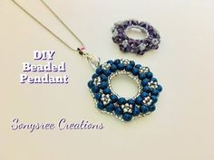 Easy to make beaded Earrings.Begginers project - YouTube