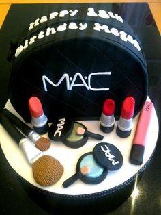 18th Birthday cake makeup bag | docrafts.com