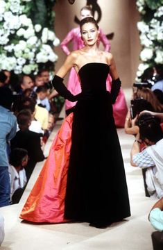 Yves Saint Laurent Haute Couture Fall/Winter 1995  Front