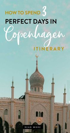 the best copenhagen itinerary whether you have 3 days in denmark or 2 weeks! copenhagen travel guide, denmark itinerary, -- Tanks that Get Around is an online store offering a selection of funny travel clothes for world explorers. Check out www.tanksthatgetaround.com for funny travel tank tops and more travel bucket list inspo.