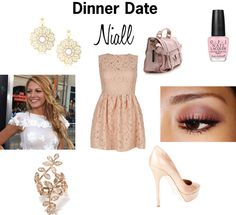 """Rose Gold Nude"" by joanie13da on Polyvore"