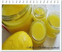 Jedlíkovo vaření: Zavařeniny - domácí lemon curd #zavareniny #lemon #citron