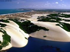 Genipabu sand dunes - Natal Brazil