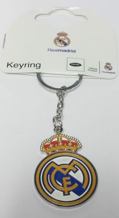 Real Madrid Key Ring Official Football Gifts Keychains Keyrings 3b05236fd41