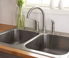 Easy Update - replacing your sink and faucet. I'm going to need these instructions soon!