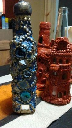 Mis botellas, creaciones inspiradas de Pinterest