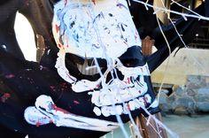 Skull - Ghostship party setup
