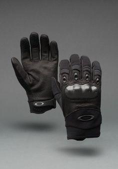Oakley Factory Pilot Gloves w/ carbon fiber knuckles: