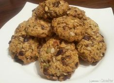 Ciasteczka owsiane na bogato Muffin, Cookies, Breakfast, Food, Crack Crackers, Morning Coffee, Biscuits, Essen, Muffins