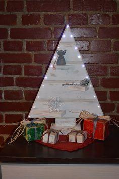 choinka led drewniana choinka christmas tree wood drewno
