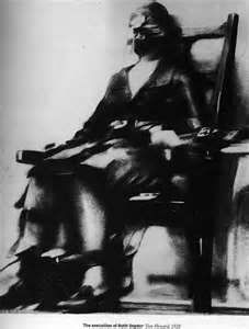 Ruth Snyder Electrocuted at Sing Sing Prison 1928.