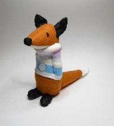 Miniatur glaubte dass Fox Plüschtier Rotfuchs von TreacherCreatures