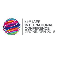 Logo 41st IAEE International Conference Groningen 2018 / University of Groningen, Faculty of Economics & Business / Energy Academy Europe