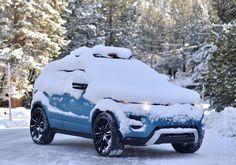 Evoque in snow
