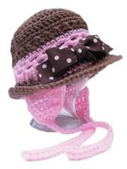 "Anticipate the cool weather with this crochet hat with optional earflaps.This easy crochet pattern with optional earflaps can be worn year-round. Crocheted using worsted weight yarn, Fits sizes 18 mo–5T (16""–20"" head circumference), small child–small adult (21""–23"" head circumference) and adult medium to extra-large. Just change the hook size for a different circumference. Embellish or leave plain for a different look. Available as a PDF download only at Annie's Attic.. crochet creations by…"