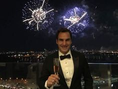 New Year 2018 Roger Federer à Perth
