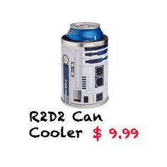 Keep your drink cold with the R2D2 Can Cooler! http://r2d2gadgets.com/r2d2-cooler/ #r2d2 #can #cooler #starwars #star wars
