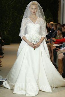 Brides: Carolina Herrera - Spring 2014 | Bridal Runway Shows | Wedding Dresses and Style | Brides.com OMG LOVE!