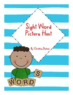 This is a sight word picture hunt. Students hunt for the hidden sight words in the picture. They write the sight words they found on the line. This is a great follow up activity after you've introduced the sight words or you can use it as a morning work activity for a review!