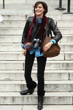 Ines de la Fressange Photos - Chanel: Arrivals - Paris Fashion Week Haute Couture S/S 2012 - Zimbio