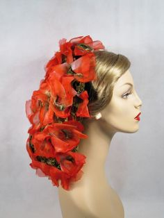 1940's hair snood