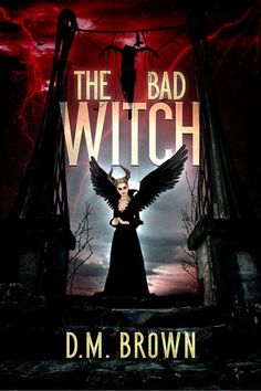 Horror Witch Premade Book Cover