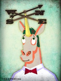 "Unicorn of the Day ""Weathervane Unicorn"" | That's So Unicorny"