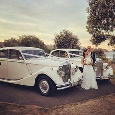 The beautiful #bride & #groom Lyle & Conrad ❤️ #maroubra #winterweddings #jaguars #loveourcars #gorgeousbride #sydneybrides #sydneyweddingcars